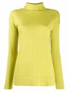 Snobby Sheep turtleneck slim-fit jumper - Green