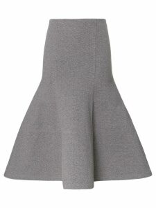 Vika Gazinskaya trumpet hem skirt - Grey