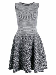 Antonino Valenti knitted flared dress - Black