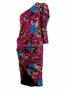 Giuseppe Di Morabito asymmetric midi dress - Pink