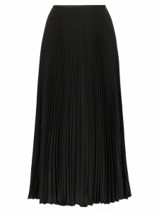 Joseph pleated midi skirt - Black