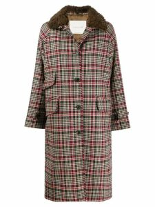Mackintosh check coat - Brown