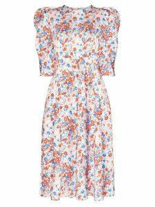 Vika Gazinskaya floral print midi dress - Multicoloured
