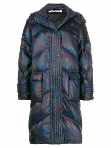 McQ Alexander McQueen holographic padded jacket - Blue