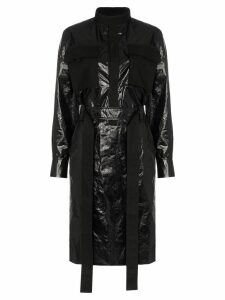 AMBUSH utilitarian belted midi dress - Black