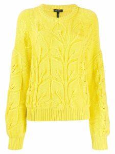 Escada chunky knit jumper - Yellow