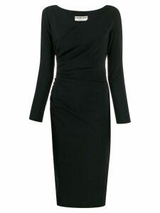Le Petite Robe Di Chiara Boni wrap style shift dress - Black