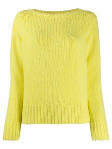 Fabiana Filippi crew neck jumper - Yellow