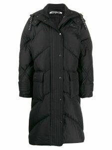 McQ Alexander McQueen padded hooded coat - White