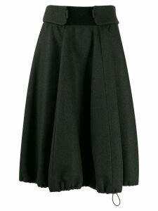 Nina Ricci A-line midi skirt - Grey