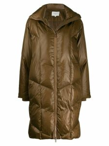 Vince quilted puffer coat - Brown