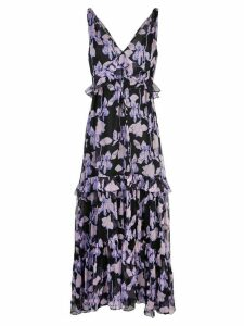 Diane von Furstenberg floral maxi dress - Black
