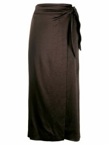 Nanushka Sarong skirt - Brown