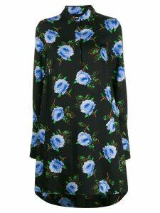Essentiel Antwerp floral shirt dress - Black