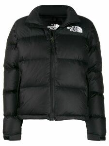 The North Face padded logo patch jacket - Black