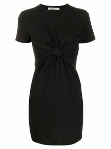 T By Alexander Wang knot detail dress - Black