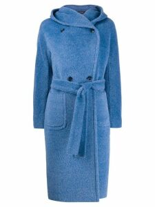 Tagliatore Daisy double-breasted coat - Blue