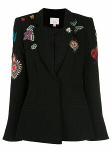 Cinq A Sept embroidered blazer - Black