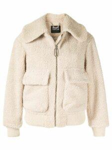 Markus Lupfer faux-fur jacket - White