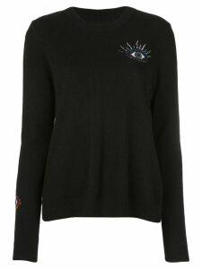 Nicole Miller evil eye sweater - Black