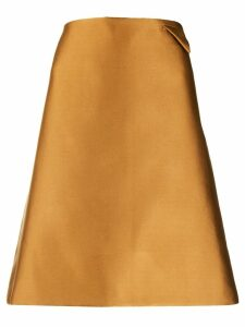 Bottega Veneta A-line skirt - Brown