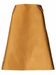 Bottega Veneta A-line skirt - Brown