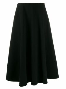 Courrèges Disk midi skirt - Black