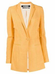 Jacquemus tailored blazer - Orange