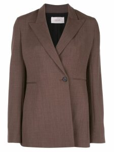 The Row clean line blazer - Brown