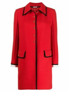 Miu Miu single-breasted coat - Red