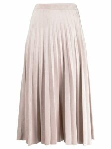 D.Exterior pleated skirt - Pink