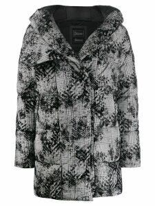 Herno patterned padded jacket - Grey