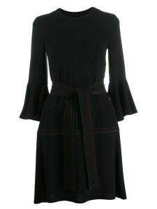 Talbot Runhof belted dress - Black