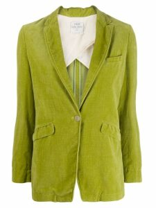 Forte Forte Foglia velvet blazers - Green