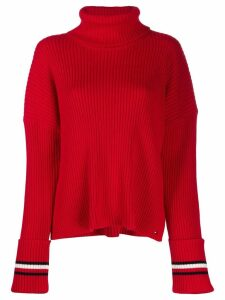 Tommy Hilfiger ribbed knit sweater - Red