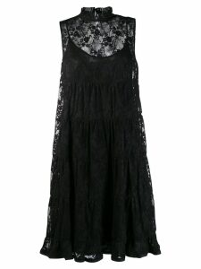 See By Chloé lace midi dress - Black