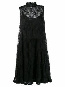 See By Chloé lace midi dress - Black