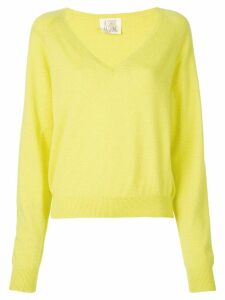 A Shirt Thing V-neck sweater - Yellow