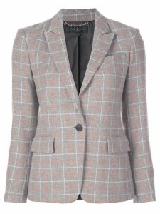 Rag & Bone checked blazer - Grey