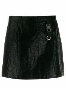 1017 ALYX 9SM buckle mini skirt - Black