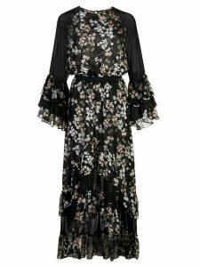 Misa Los Angeles floral ruffled dress - Multicolour