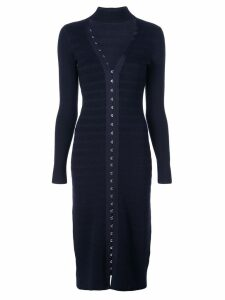 Jonathan Simkhai hook and eye dress - Blue