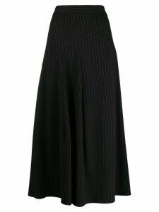Steffen Schraut pinstripe skirt - Black