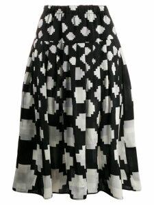 Marni Goma A-line skirt - Black