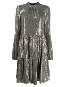 Steffen Schraut sequin mini dress - Gold