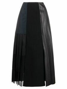Dorothee Schumacher flared midi skirt - Black