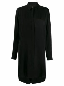 J.Lindeberg long-sleeve shirt dress - Black