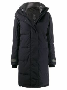 Canada Goose hooded padded coat - Blue
