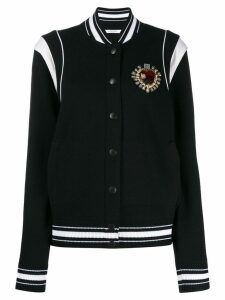 Givenchy crest bomber jacket - Black