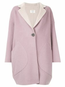Onefifteen oversized midi coat - Purple